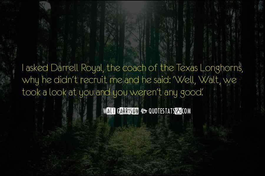 Darrell Quotes #235074