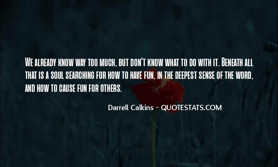 Darrell Quotes #414929