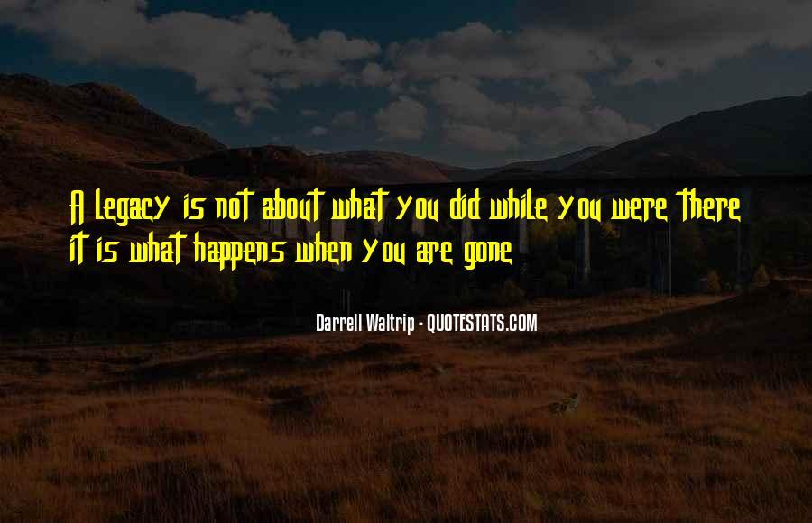Darrell Quotes #440242