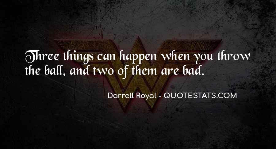 Darrell Quotes #559209