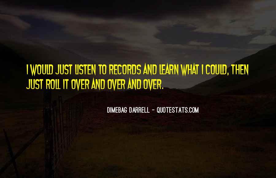 Darrell Quotes #84514