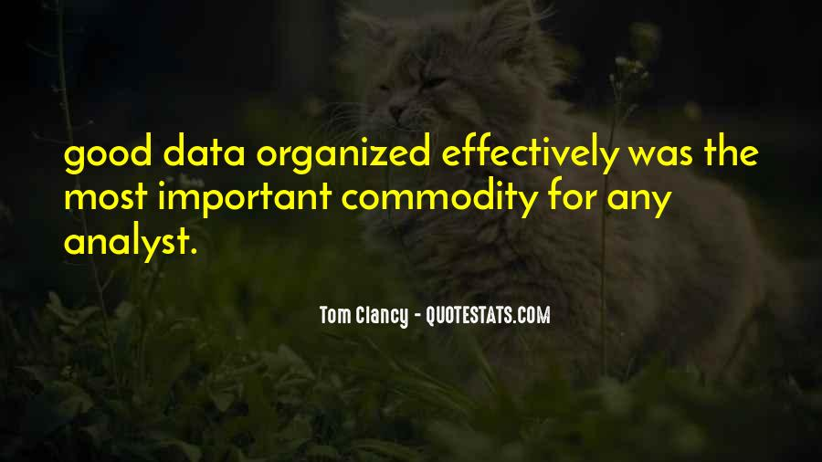 Data Analyst Quotes #27972
