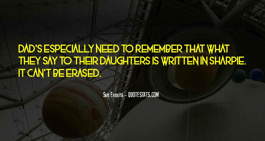 Daughter Needs Dad Quotes #73287