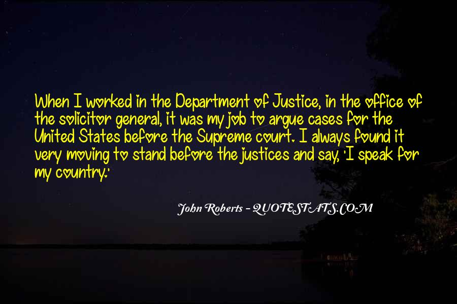 Quotes About Justices #1063660