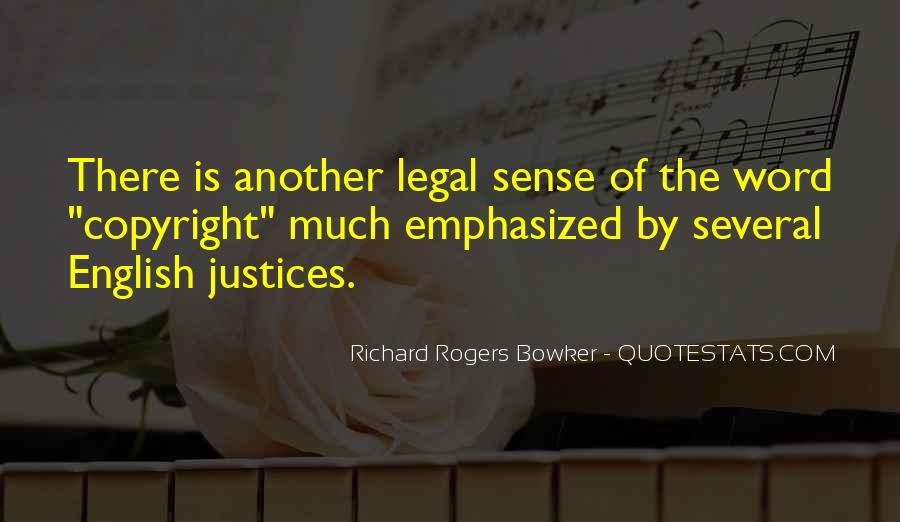 Quotes About Justices #1364486