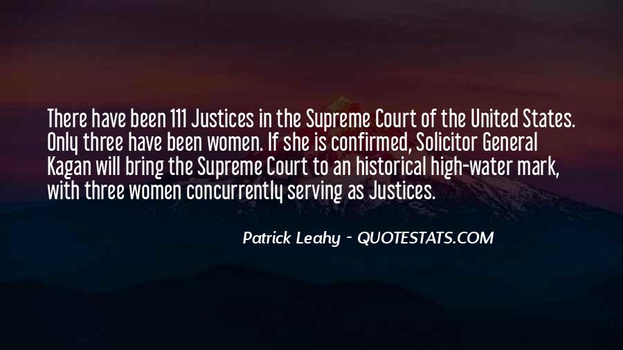Quotes About Justices #577289