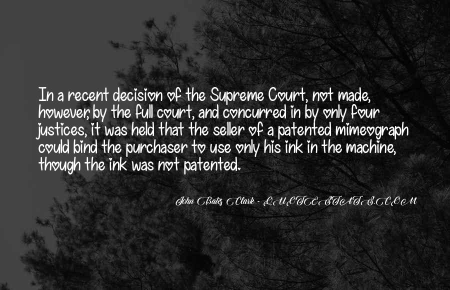 Quotes About Justices #600505
