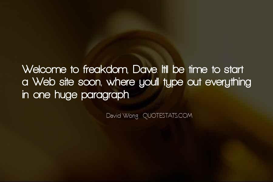 Dave Wong Quotes #283990