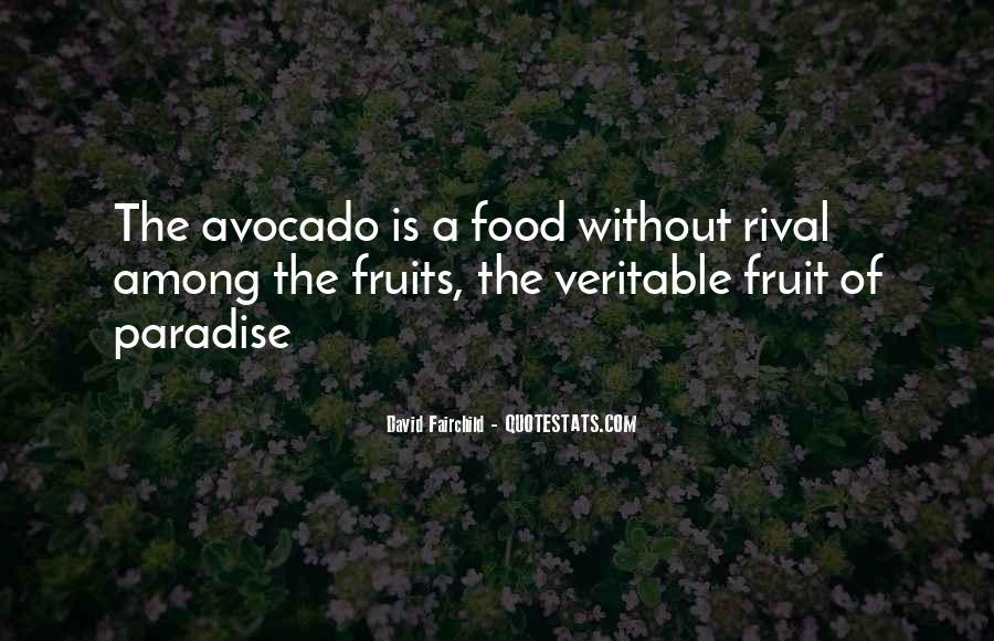 David Avocado Quotes #840037