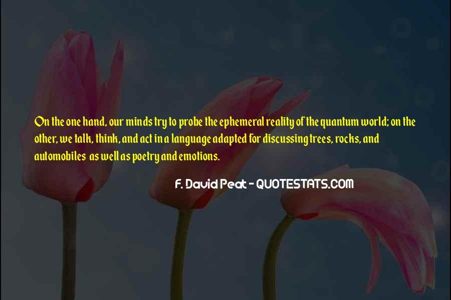 David Peat Quotes #812466