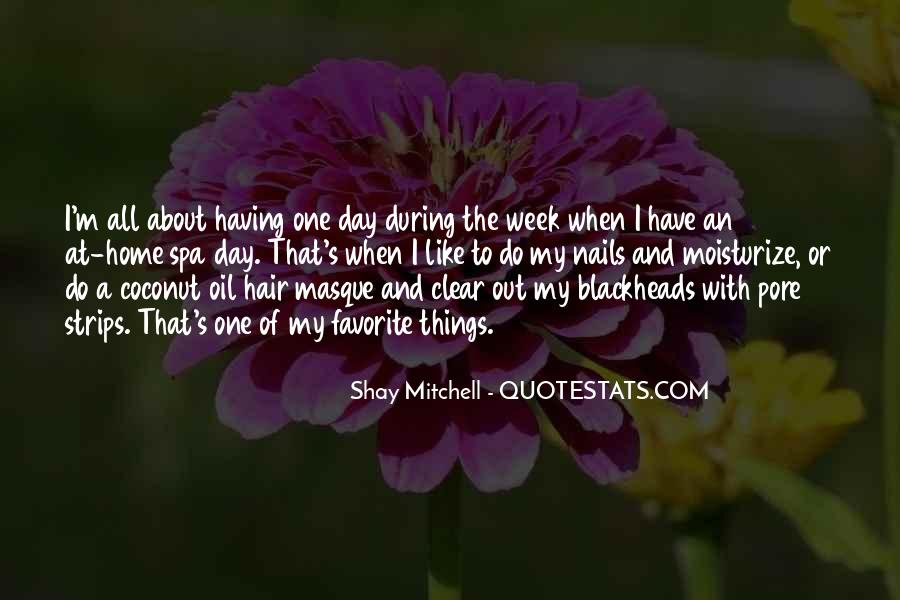 Day At The Spa Quotes #101948