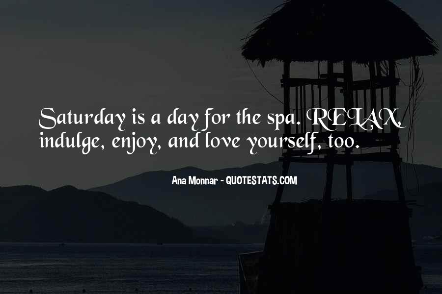 Day At The Spa Quotes #448158