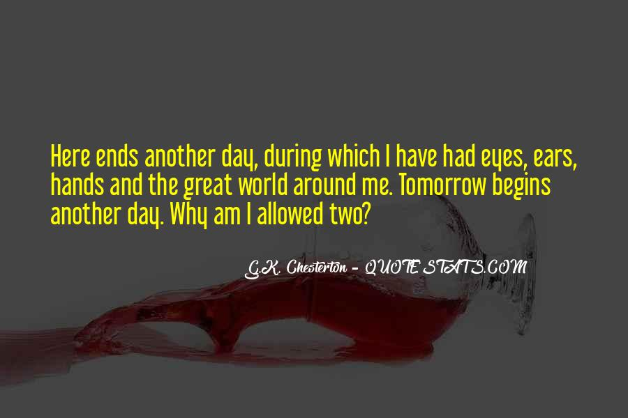 Day Ends Quotes #161900