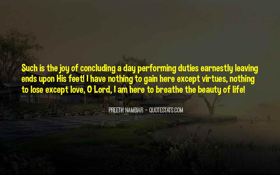 Day Ends Quotes #426614