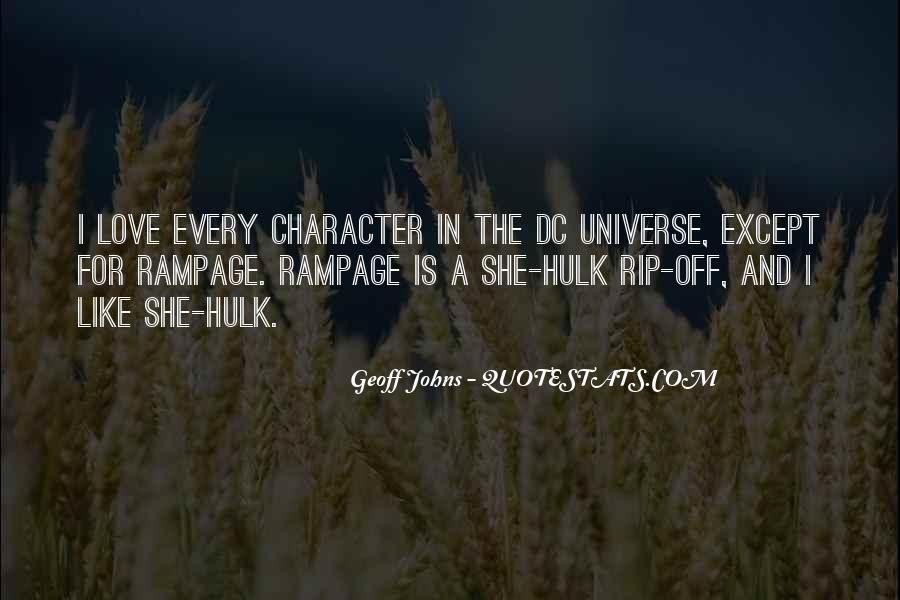 Dc Universe Quotes #1126060