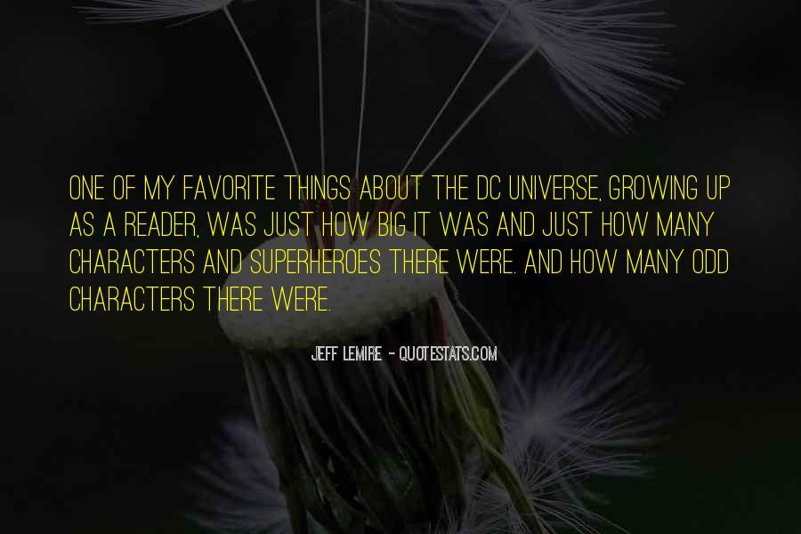 Dc Universe Quotes #1265123