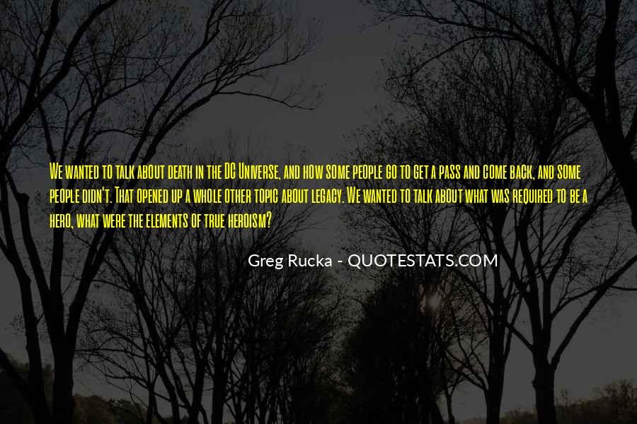 Dc Universe Quotes #1410435