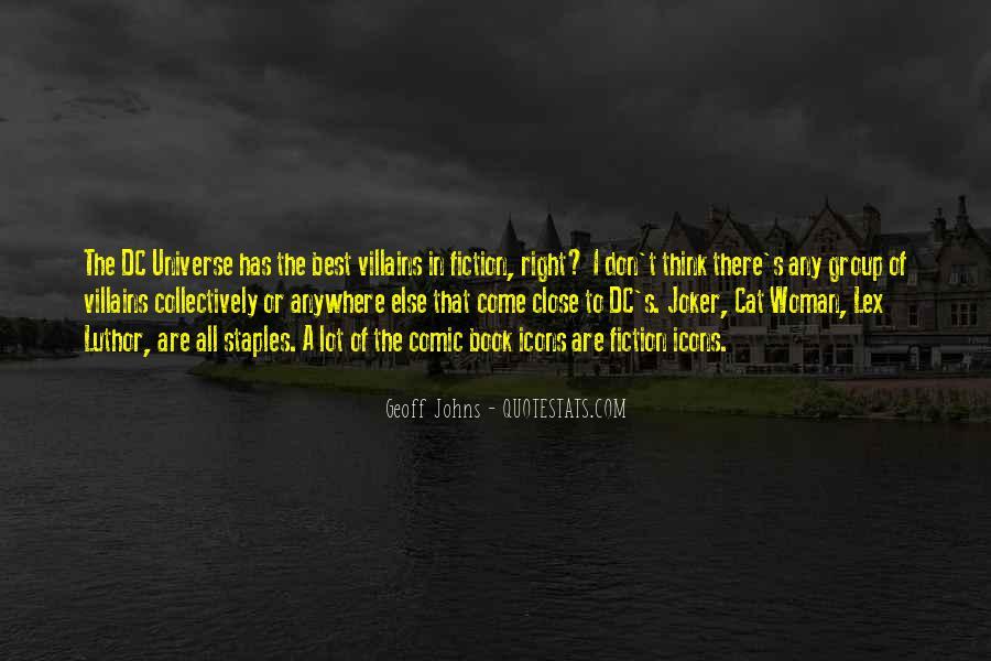 Dc Universe Quotes #1532469