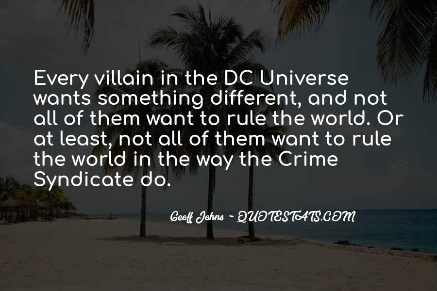 Dc Universe Quotes #349314