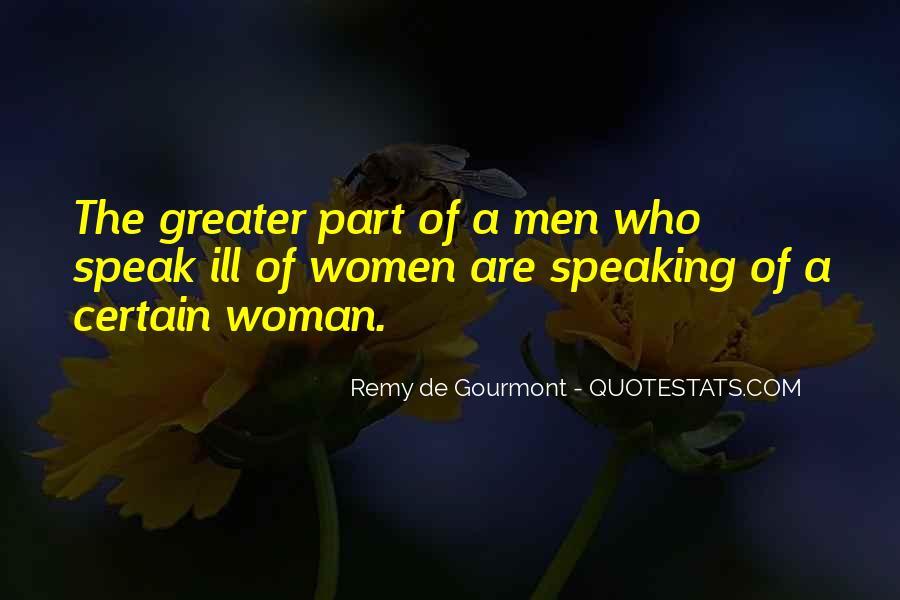 De Gourmont Quotes #1266664