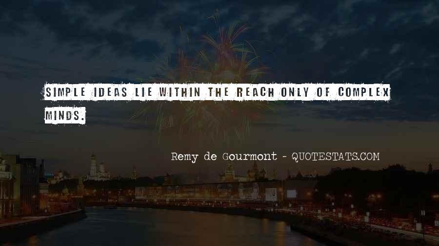 De Gourmont Quotes #1281089