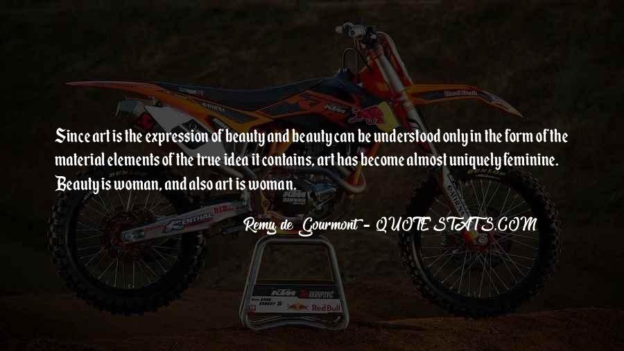 De Gourmont Quotes #146685