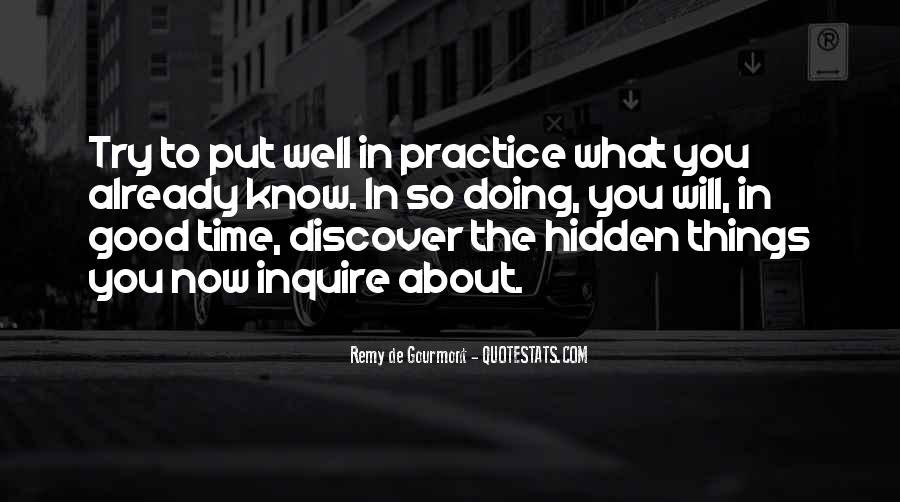 De Gourmont Quotes #1710259