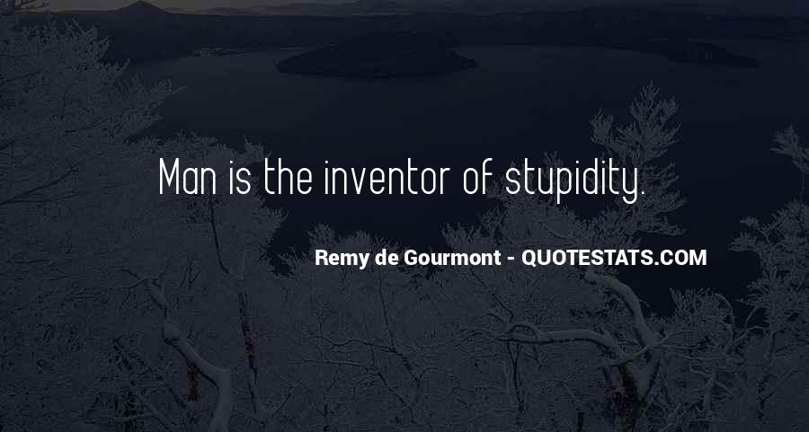 De Gourmont Quotes #1741349