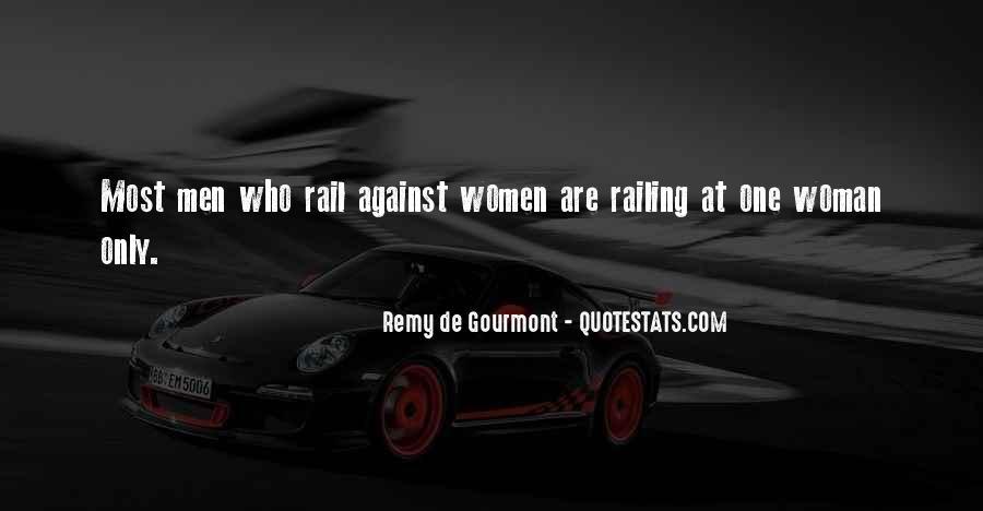 De Gourmont Quotes #1816825