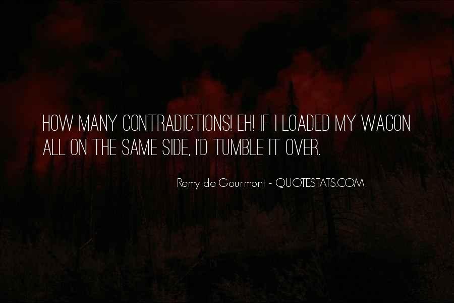 De Gourmont Quotes #1850889