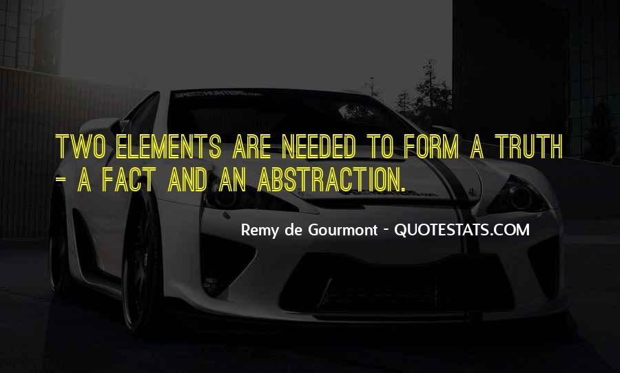 De Gourmont Quotes #455414