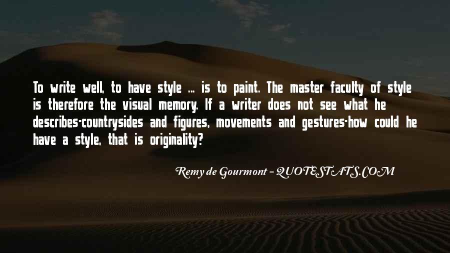 De Gourmont Quotes #682973