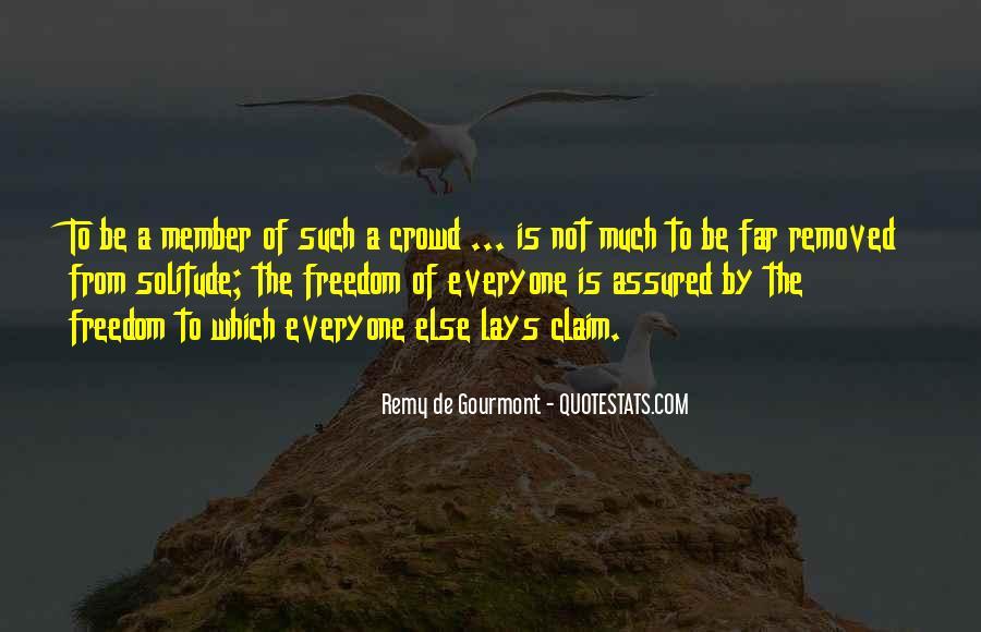 De Gourmont Quotes #830006