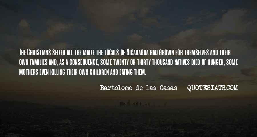 De Las Casas Quotes #1785536