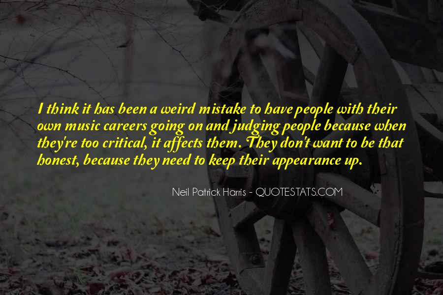 Quotes About Judging People #127994