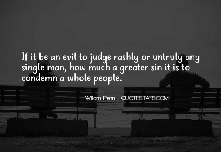 Quotes About Judging People #135107