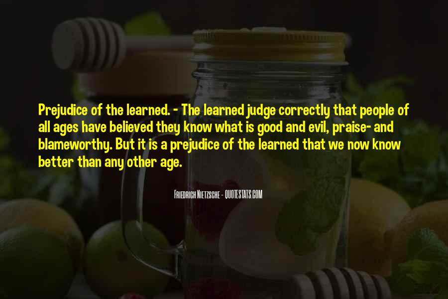 Quotes About Judging People #184406