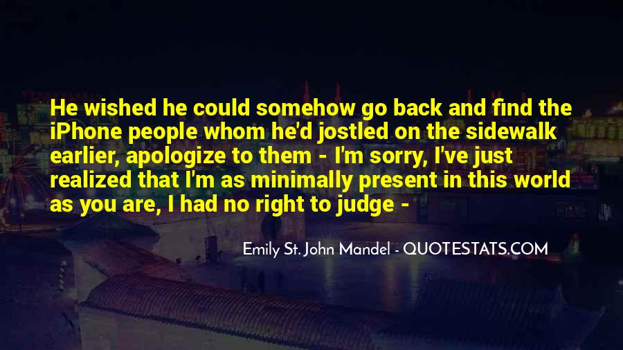 Quotes About Judging People #197306