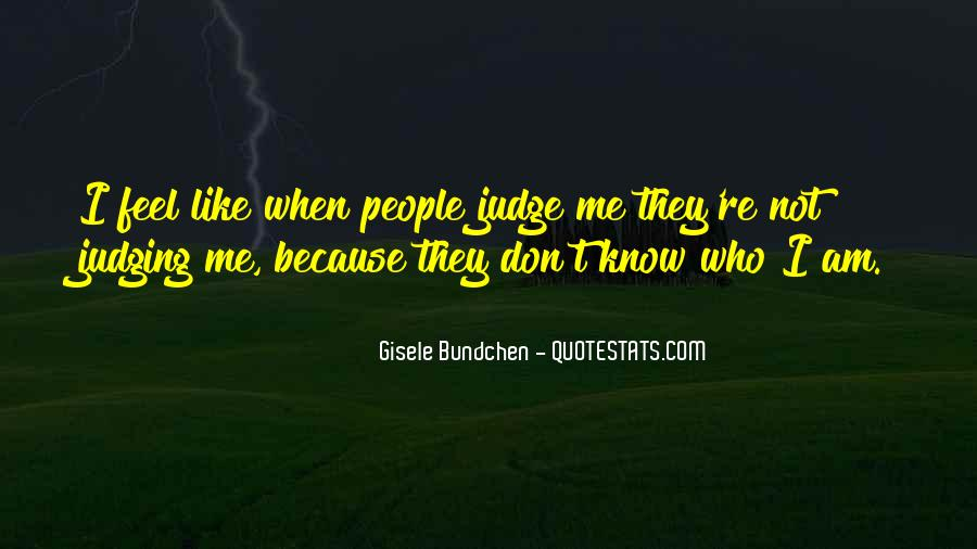 Quotes About Judging People #202486