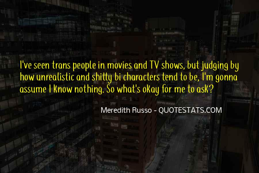 Quotes About Judging People #205912