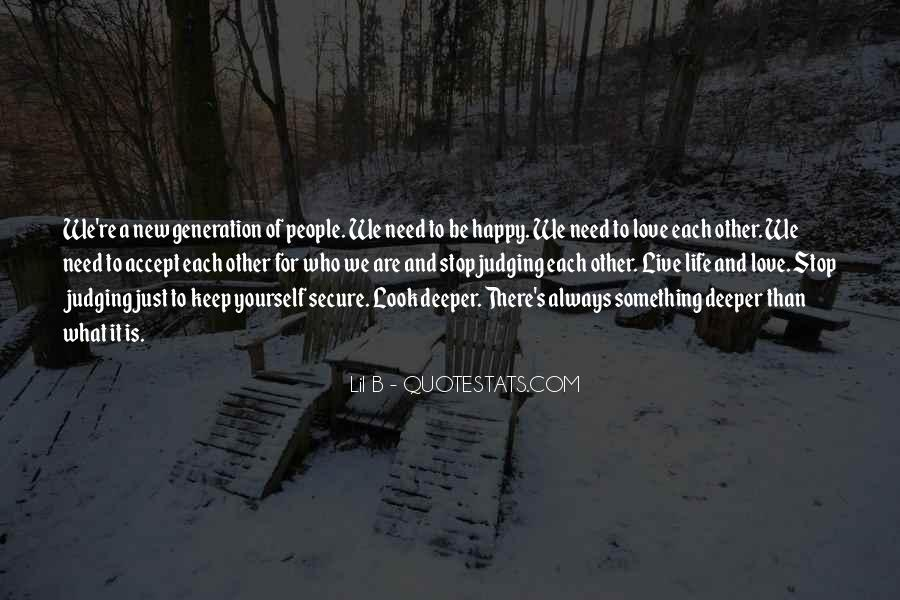 Quotes About Judging People #208847