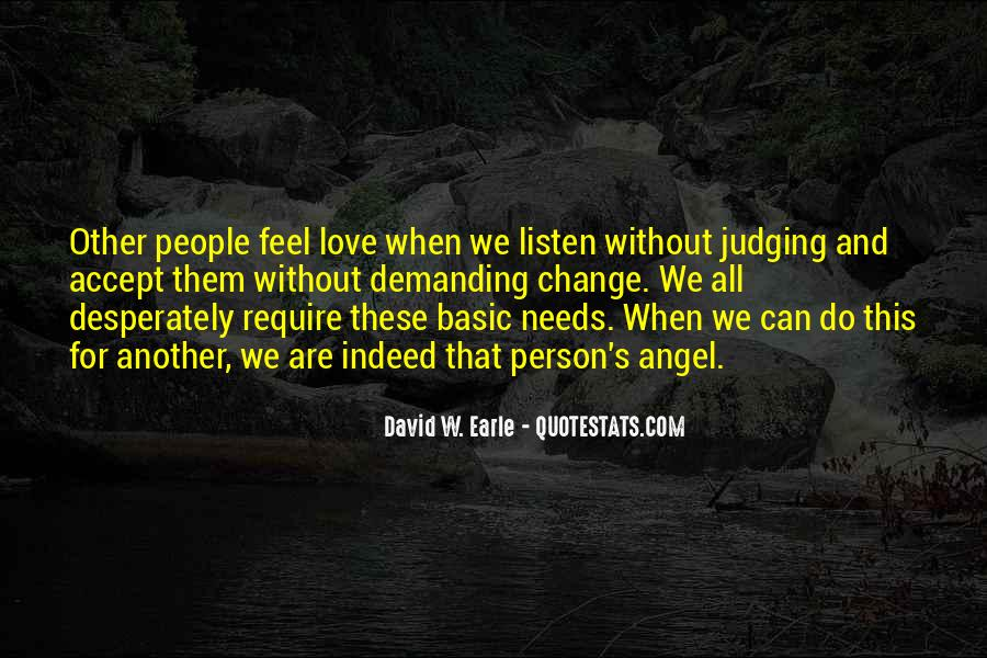 Quotes About Judging People #211804