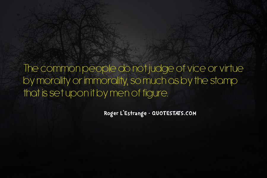 Quotes About Judging People #21594