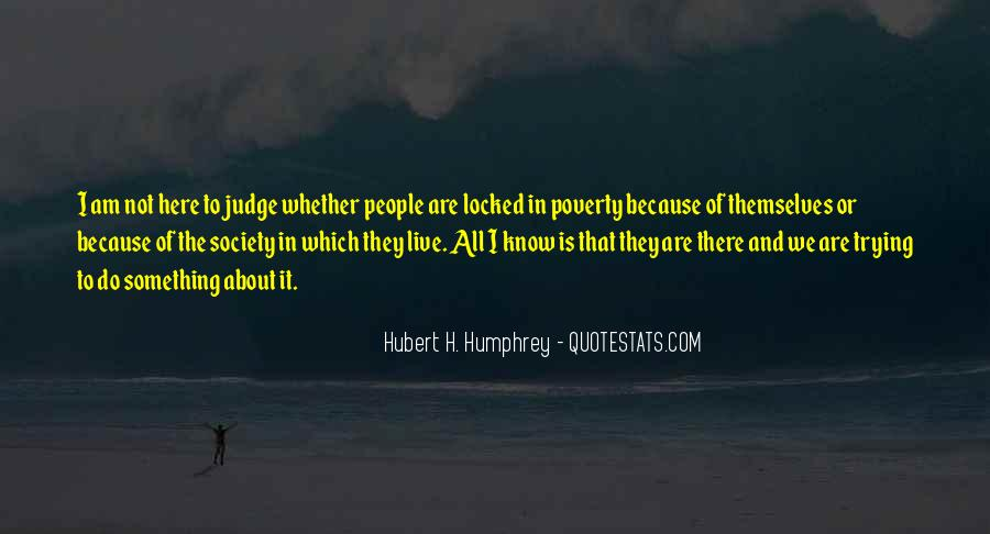 Quotes About Judging People #253614