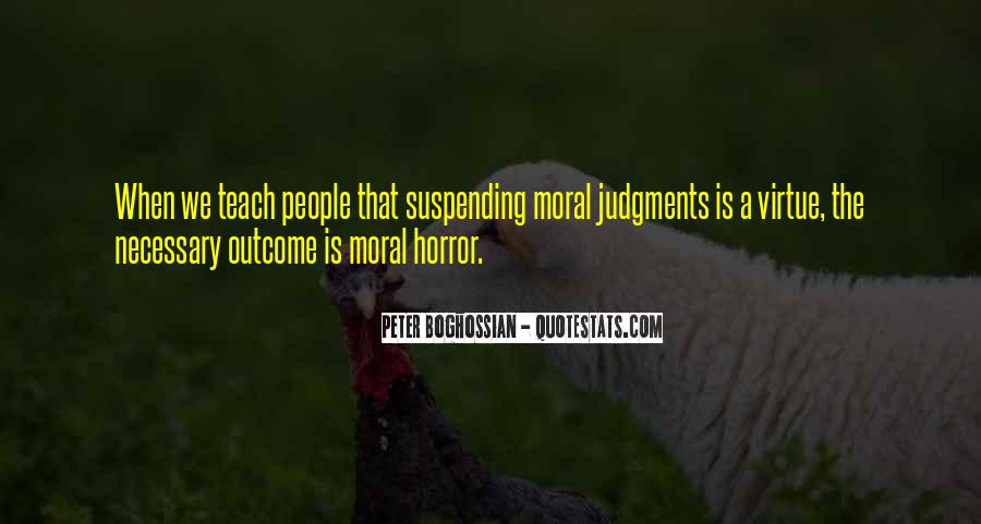 Quotes About Judging People #254274