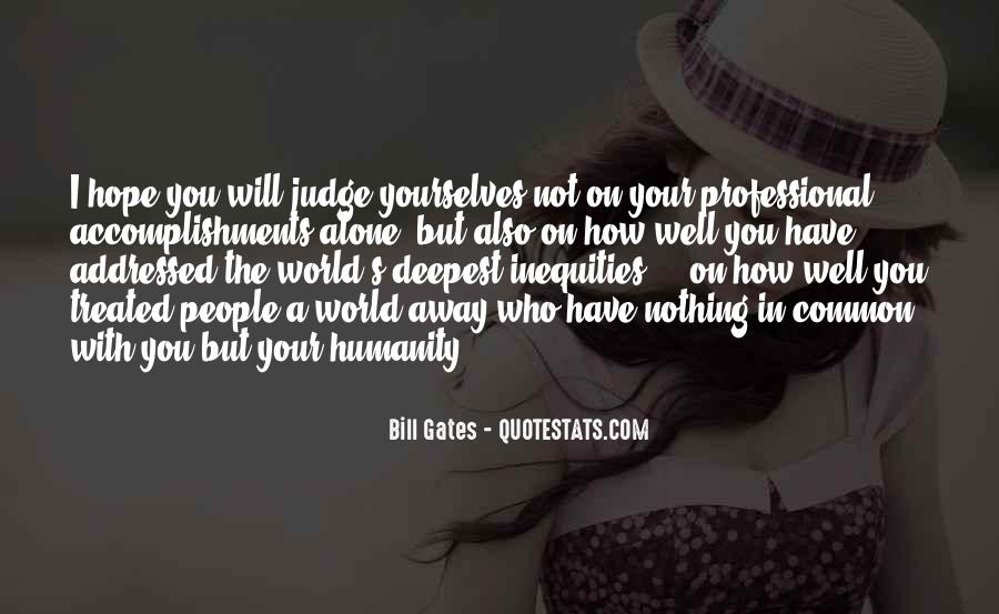 Quotes About Judging People #283749