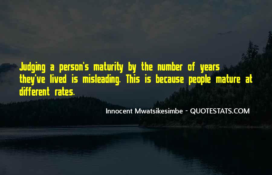 Quotes About Judging People #327694