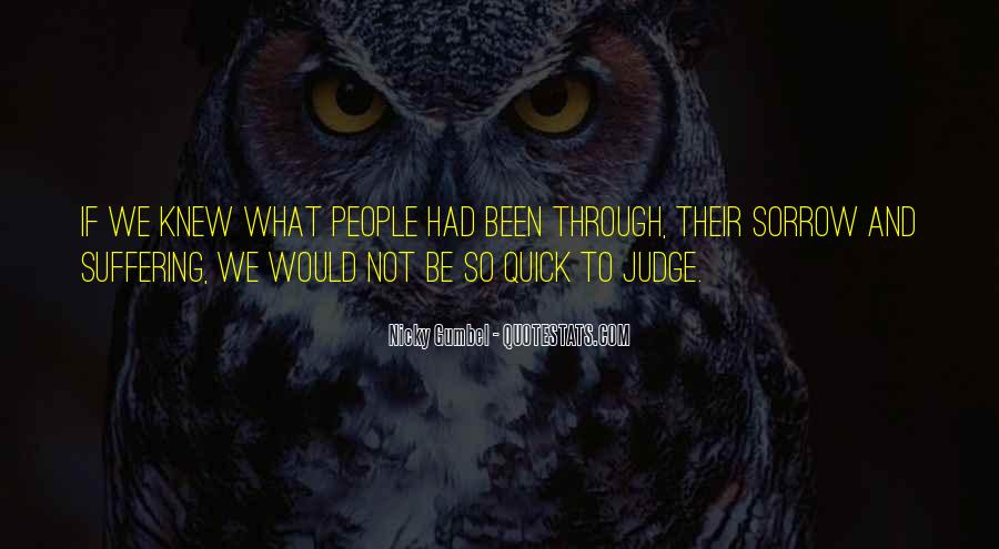 Quotes About Judging People #345276