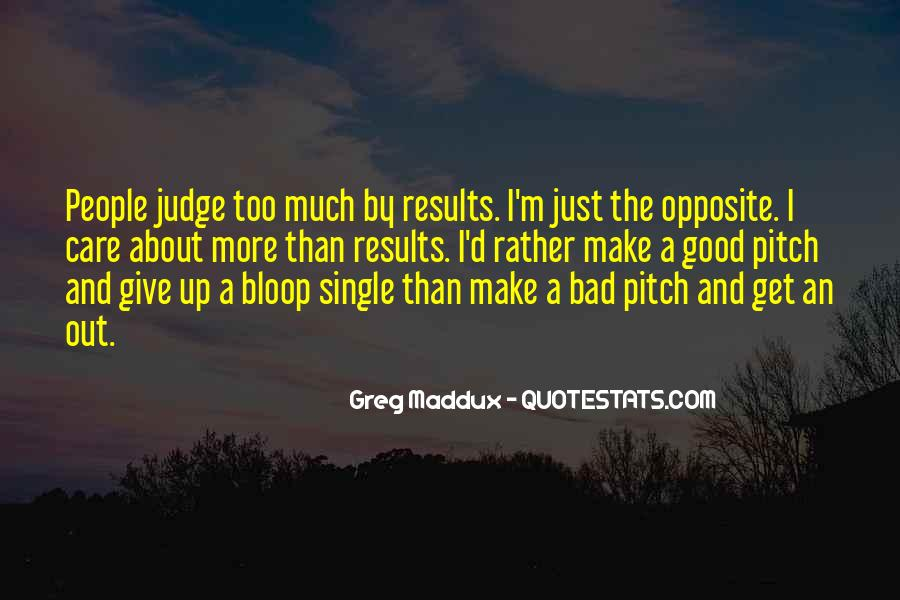 Quotes About Judging People #353678