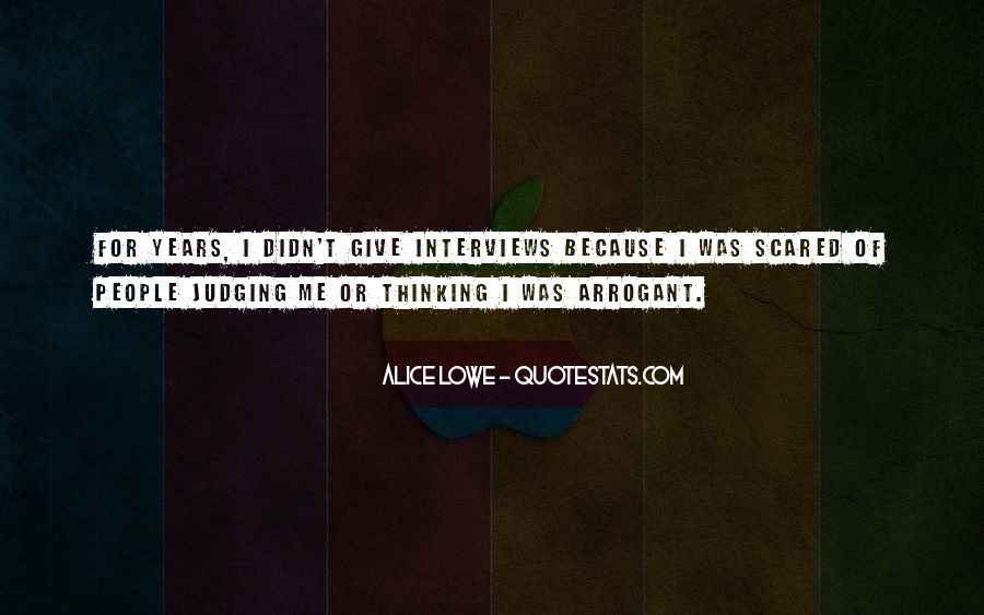 Quotes About Judging People #378823